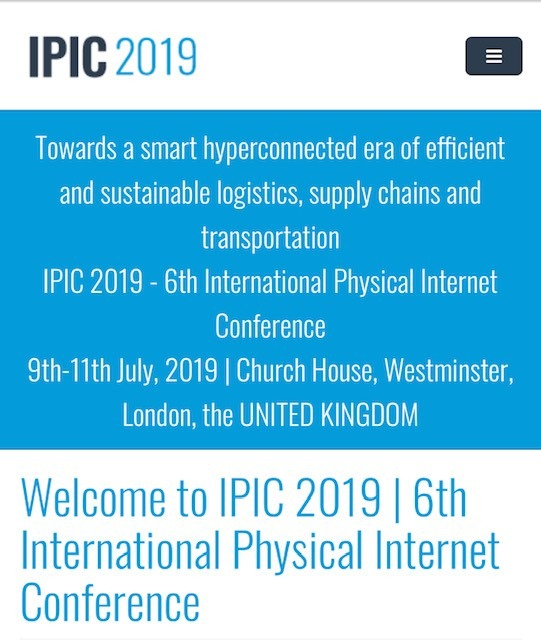 IPIC 2019 Conference