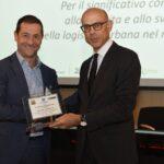 """Massimo Marciani, presidente e fondatore di FIT Consulting, riceve il premio """"Logistico dell'anno"""""""