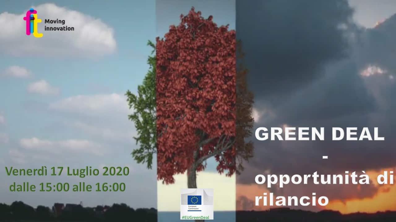 GREEN DEAL: OPPORTUNITÀ DI RILANCIO – (Webinar)