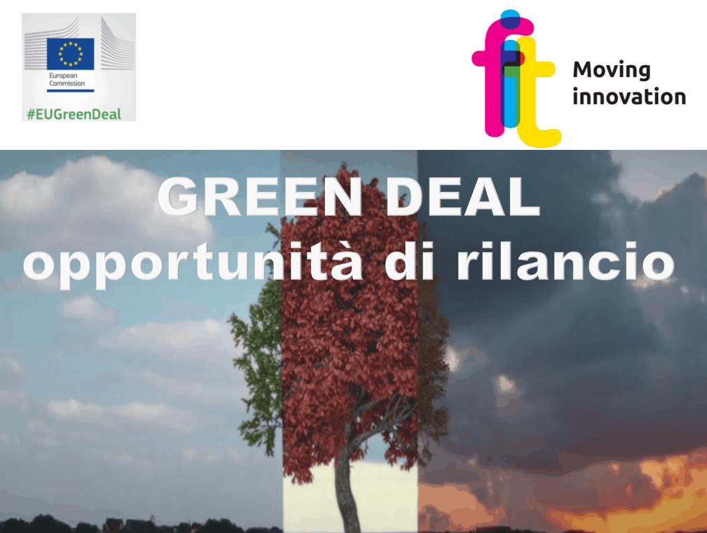 GREEN DEAL: OPPORTUNITÀ DI RILANCIO – Webinar online 2020