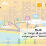 Mobility as a Service: partecipa al questionario del progetto CO2-TRAFFICAI